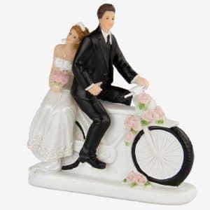 Bryllupsfigurer, Motorcykel Par
