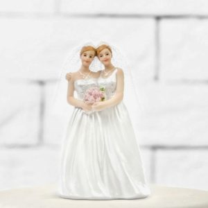 Cake Topper Brides, 11cm