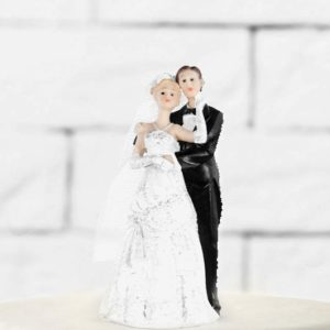 Cake Topper Newly-weds, 11cm