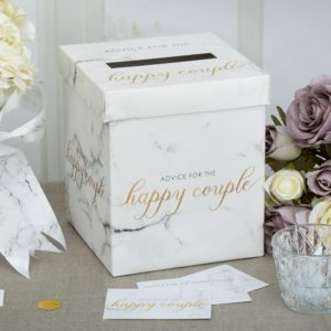 Marmor Bryllups Postboks