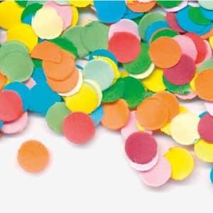 Multifarvet Konfetti 100 gr