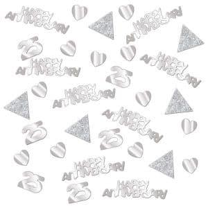 Sølv Bryllup, Konfetti