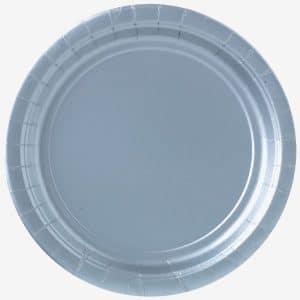 Tallerkener i Sølv